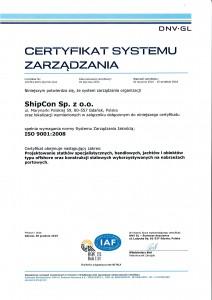 certyfikat Shipcon pl